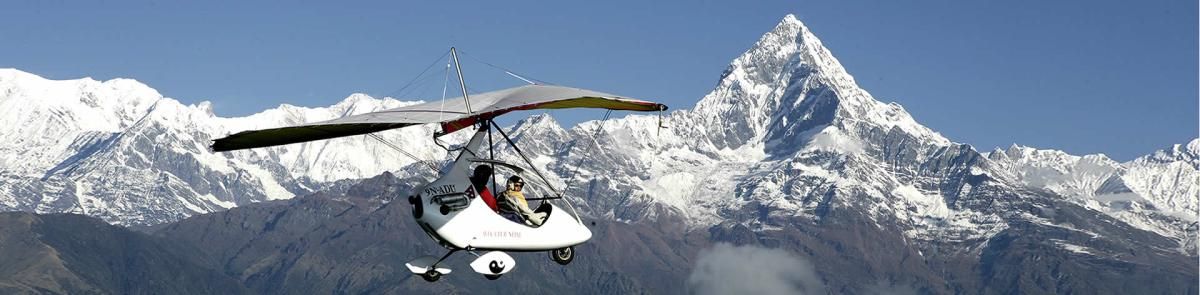 Ultra Light Flight in Pokhara-Nepal