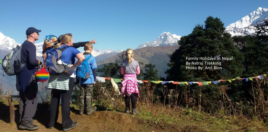 Family Adventure Holidays in Nepal-14Days
