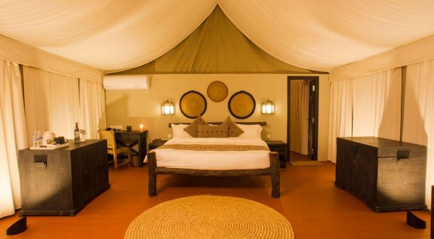 Luxurious tents – Jagatpur Lodge