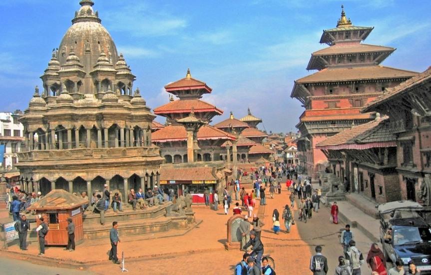 Krishna Mandir in Patan DurbarSquare